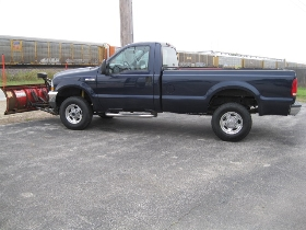2002 Ford F-250 7 1/2 Western Plow